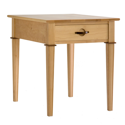 End Table Tiger Maple